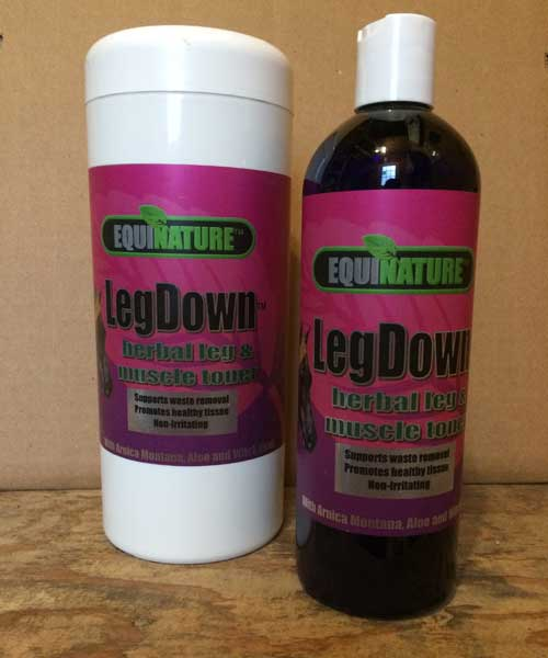 LegDown liniment Equinature wipes
