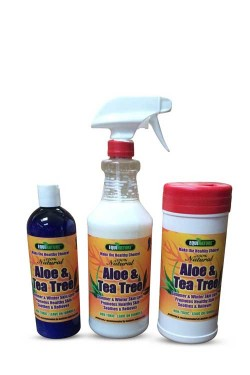 aloe tea tree lotions equinature