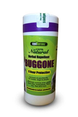 BugGone natural fly wipes