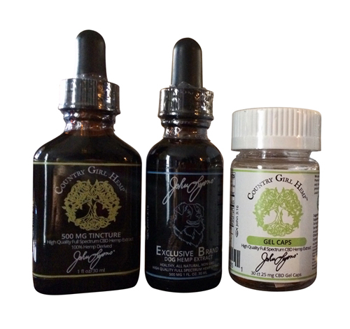 CBD Tincture Country Girl Hemp